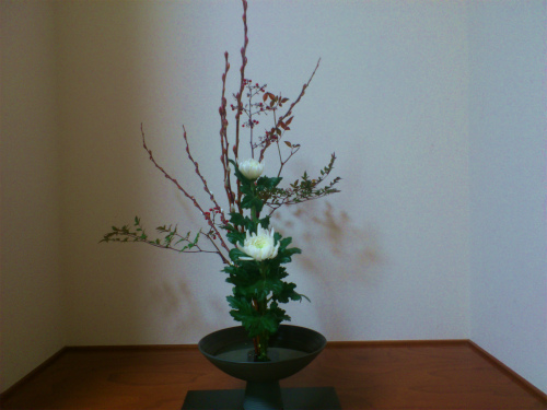 お正月お生花